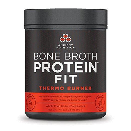 Ancient Nutrition Bone Broth Protein FIT Thermo Burner, 20 Servings Size