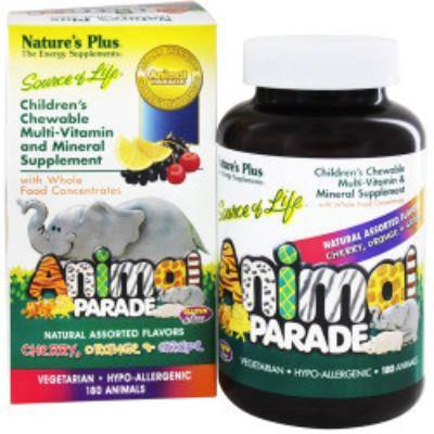 Animal Parade Multi Assorted Flavors 180 ct