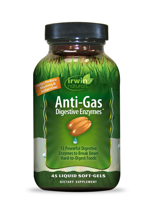Irwin Naturals -Anti-Gas Digestive Enzymes (formally Daily Digestive Enzymes)