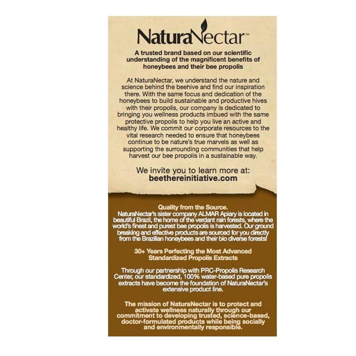 NaturaNectar - Brown Bee Propolis - Highland Health Foods