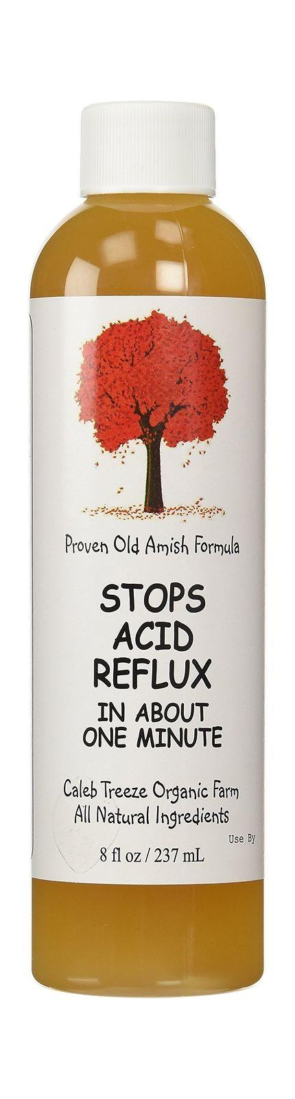 Caleb Treeze - Old Amish Remedy-Stops Acid Reflx in about a minute - 8 fl oz 2-Pack