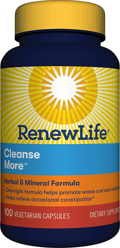 Renew Life - Cleanse More 100vcaps