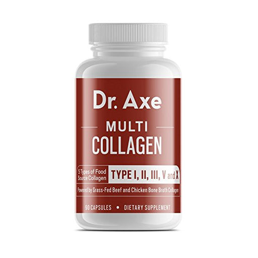 Dr. Axe Multi-Collagen Protein Capsules, 90 Count
