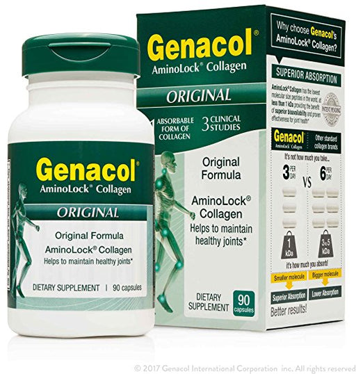 GENACOL - Hydrolyzed Collagen - 90 Capsules