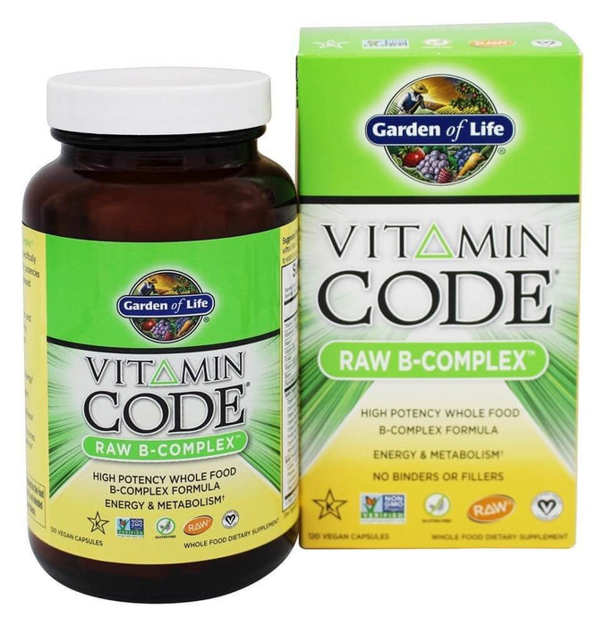 Garden Of Life Vitamin Code Raw B Complex, 120 Capsules