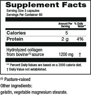 Genacol Hydrolyzed Collagen Supplement (180 Capsules)