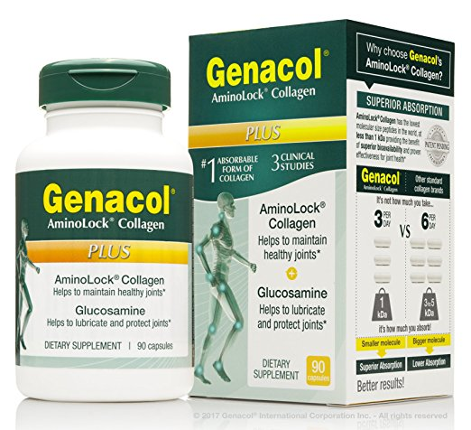 Genacol - PLUS Joint Support Supplement Complex - 90 capsules