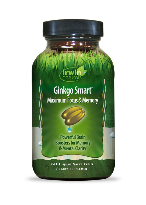 Irwin Naturals -Ginkgo Smart Maximum Focus & Memory - VALUE SIZE