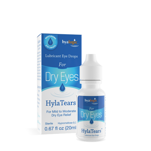 Hyalogic- HylaTears -  Dry Eye Relief Eye Drops - .67 oz