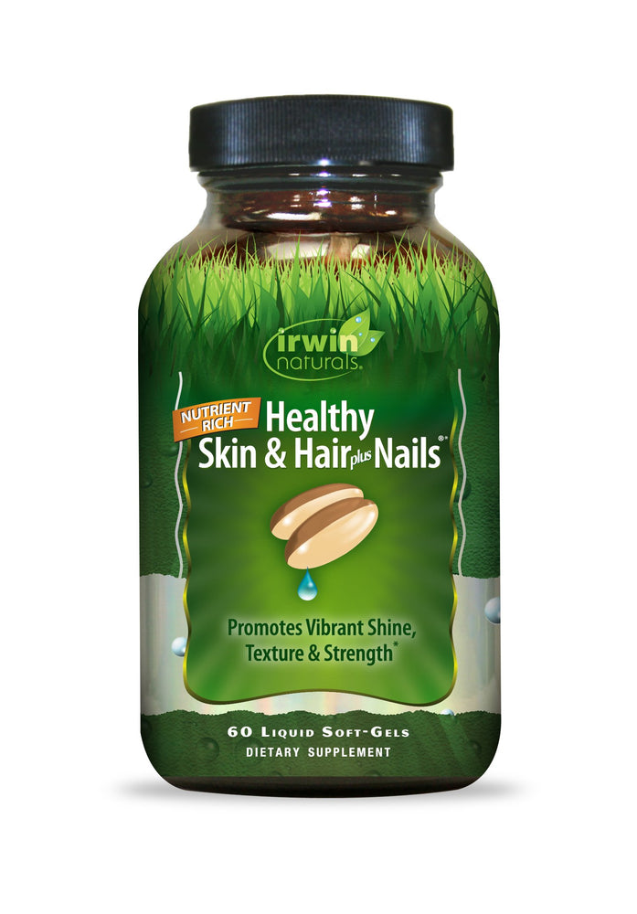 Healthy Skin & Hair plus Nails