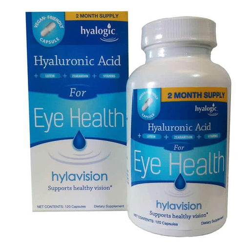 Hyalogic- HylaVision  for Eye Health 120 cap