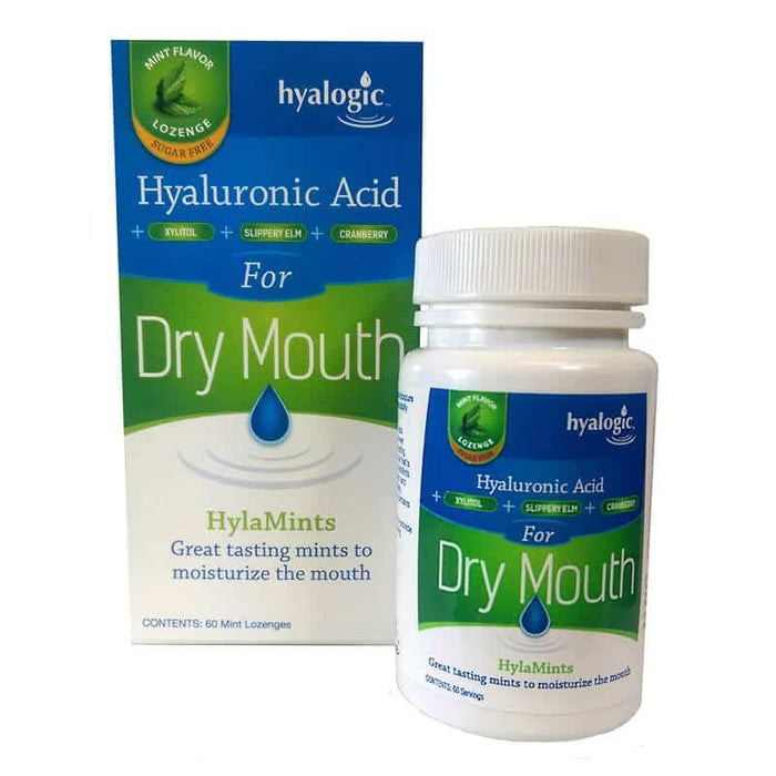 Hyalogic- Dry Mouth Hylamints - Highland Health Foods
