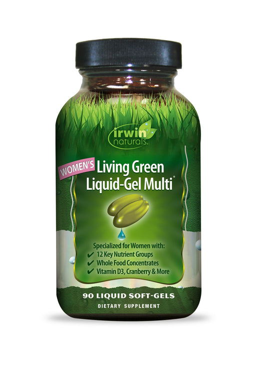 Irwin Naturals - Living Green Liquid-Gel Multi for Women - VALUE SIZE