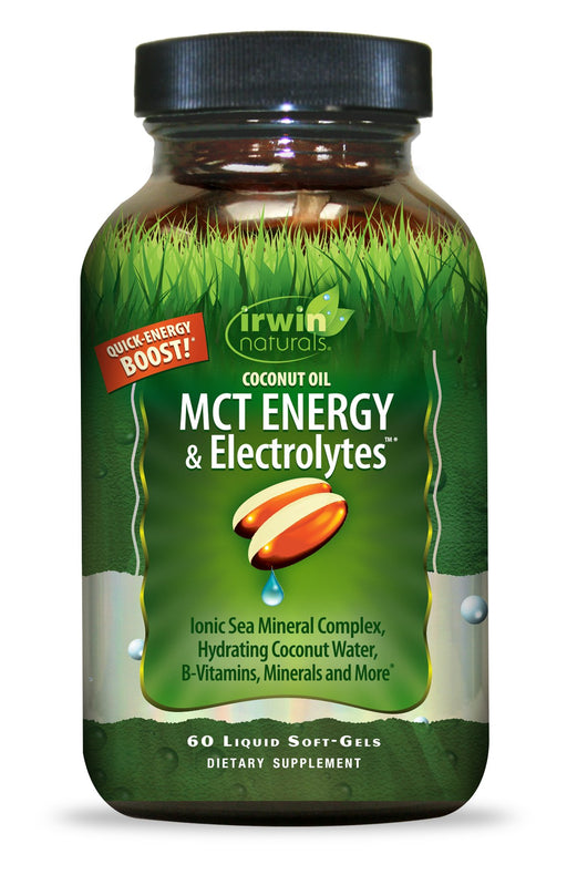 Irwin Naturals - COCONUT OIL MCT Energy & Electrolytes 60ct