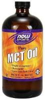 NOW MCT 100% Oil, 32-Ounce