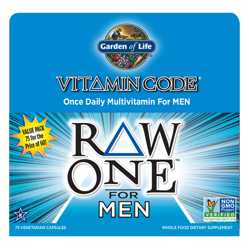 Garden Of Life-Vitamin Code® RAW ONE™ for Men 75 Vegetarian Capsules