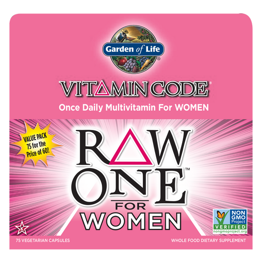 Garden Of Life-Vitamin Code® RAW ONE™ for Women 75 Vegetarian Capsules