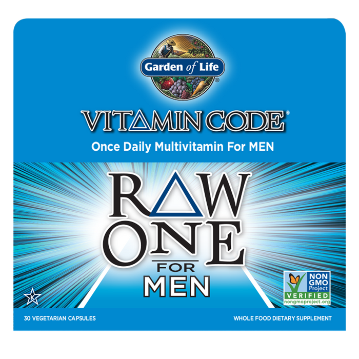 Garden Of Life-Vitamin Code® RAW ONE™ for Men 30 Vegetarian Capsules