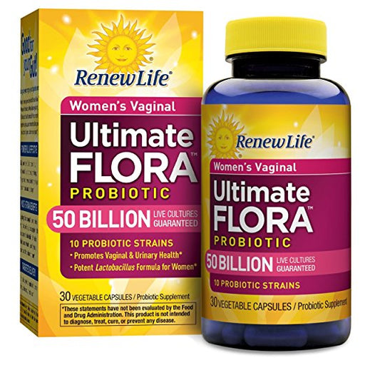 Renew Life - Ultimate Flora Women's Vaginal Probiotic 50 Billion 30vcaps