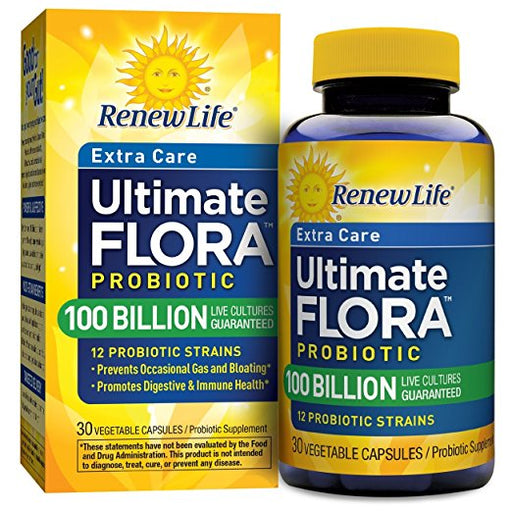 Renew Life - Ultimate Flora Probiotic Extra Care 100 Billion 30 CT