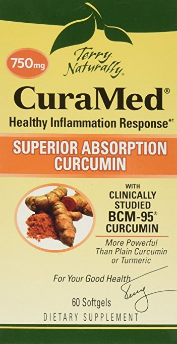 EuroPharma-Terry Naturally CuraMed More Powerful Than Turmeric 750 mg 60 Softgels