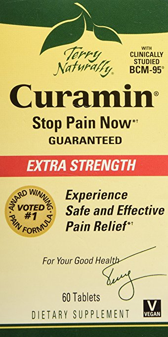 EuroPharma-Terry Naturally Curamin Extra Strength, 60 Tabs