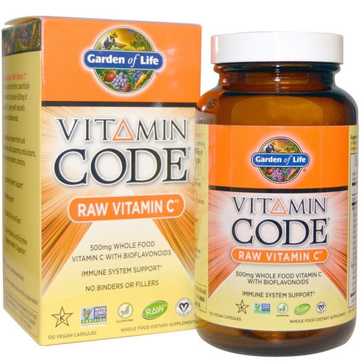 Garden Of Life Vitamin Code Raw C 120 count