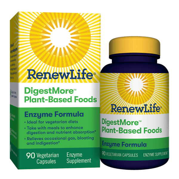 Renew Life - Digest Smart Plant Based foods - Highland Health Foods