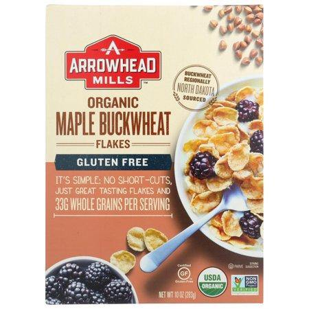 ARROWHEAD MILLS -MAPLE BUCKWHEAT FLAKES -12 OZ - Highland Health Foods