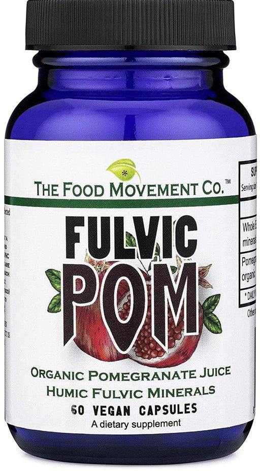 The Food Movement- Fulvic Pom- 60vcaps