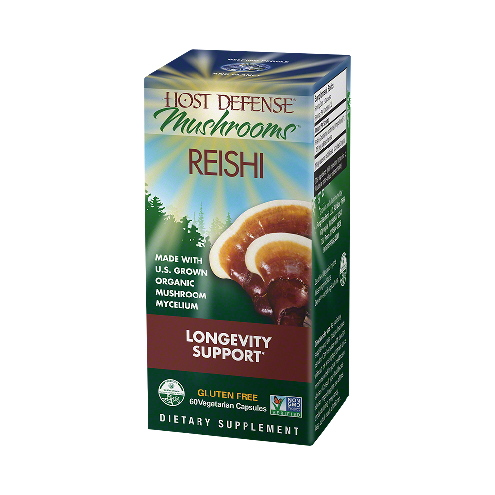 Host Defense-Reishi Capsules, 60 Ct