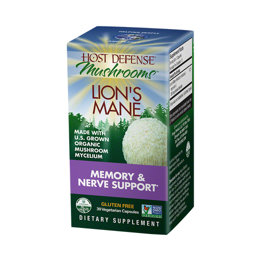 Host Defense-Lion's Mane Capsules, 30 Ct