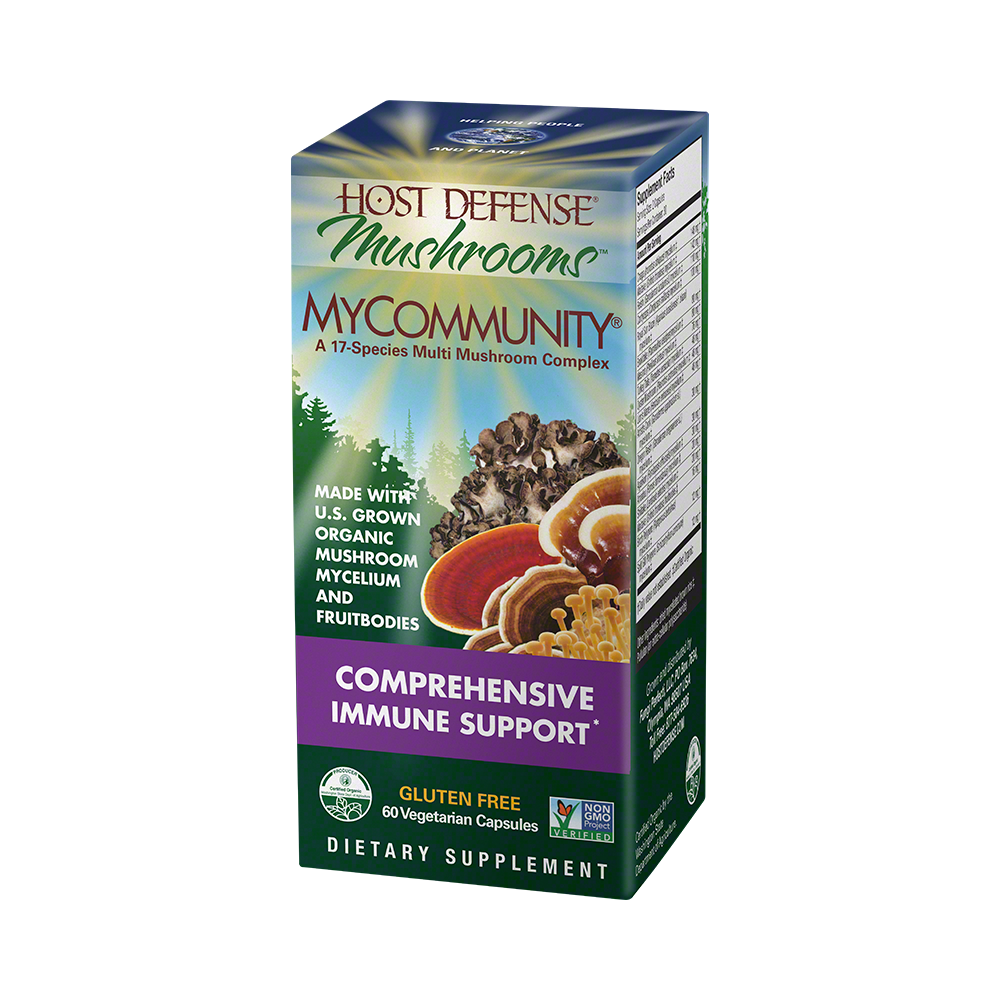 Host Defense-MyCommunity Capsules, 60 Ct