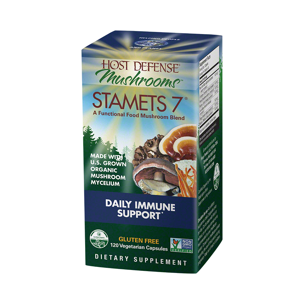Host Defense - Stamets 7 Capsules, 120 Ct