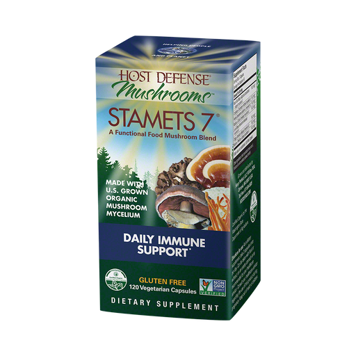 Host Defense-Stamets 7 Capsules, 120 Ct