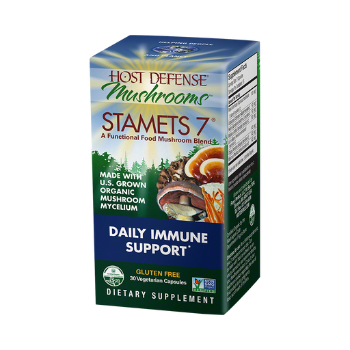 Host Defense-Stamets 7 Capsules, 30 Ct