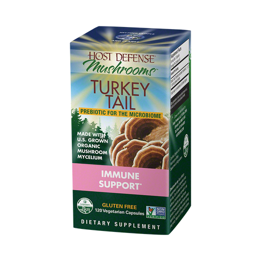 Host Defense-Turkey Tail Capsules, 120 Ct