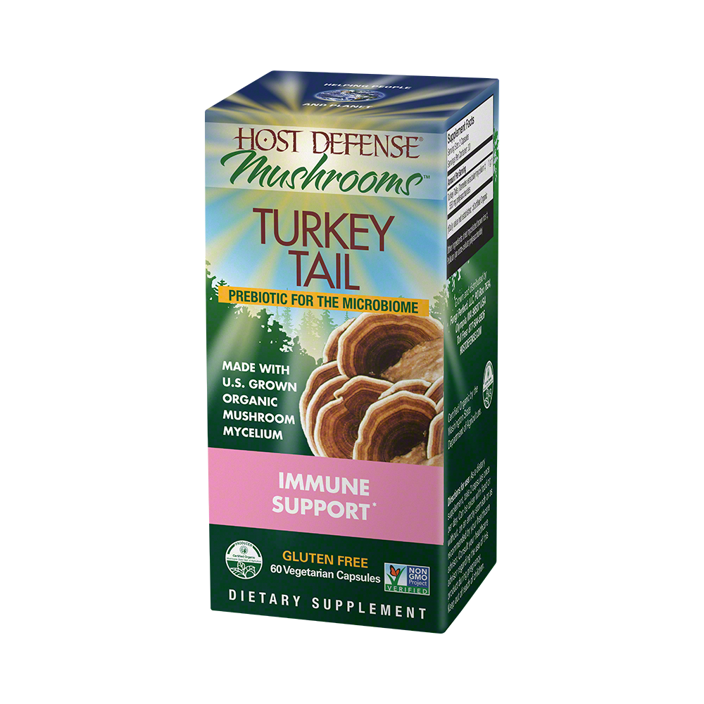 Host Defense - Turkey Tail Capsules, 60 Ct
