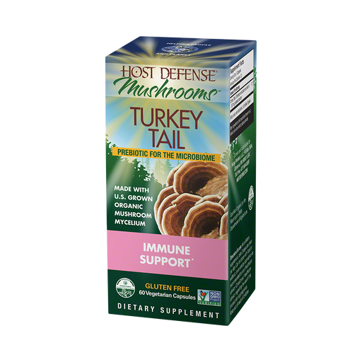 Host Defense-Turkey Tail Capsules, 60 Ct