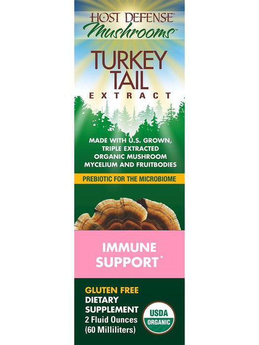 Host Defense-Turkey Tail Extract - 1 fl oz