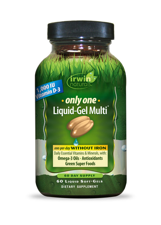 Only One Liquid-Gel Multi WITHOUT Iron