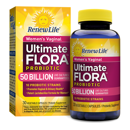 Renew Life - Ultimate Flora Women's Vaginal Probiotic 50 Billion 60 veg caps