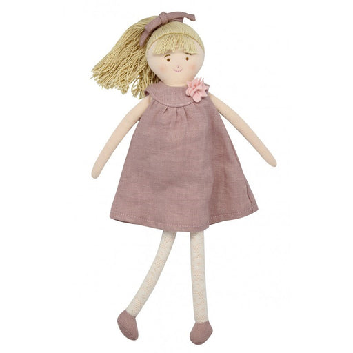 Trousselier TRSV101860 Doll with Old Pink Linen dress 30Cm (5696707166360)
