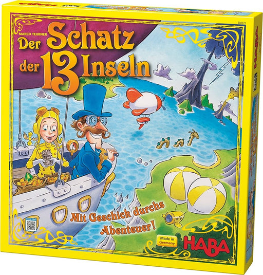 Haba 300971 The Treasure of the 13 Islands Game (5654945661080)