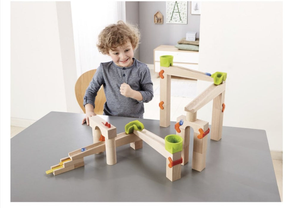 Haba 302331 Ball track Basic pack Speed & Sound