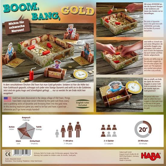Haba 303337 Boom, Bang, Gold (1877977333850)