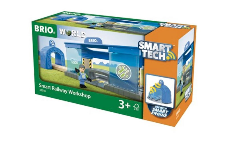 Brio 33918 Smart Tech Railway Workshop