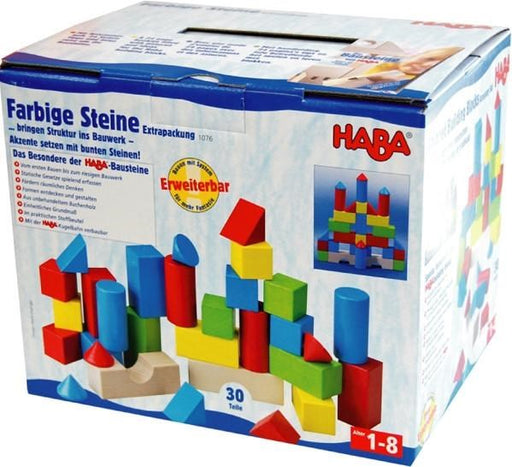 Haba 1076 Colored Building Blocks (7037061061)