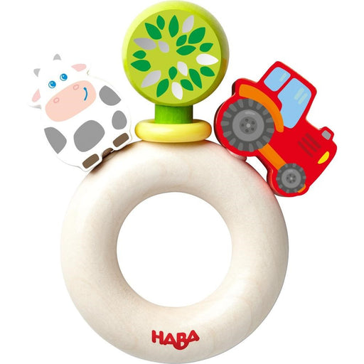 Haba 303915 Farm World Rattle (1818246316122)