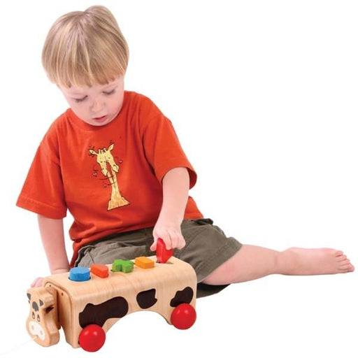 Geo Cow Wooden Toy (7036885829)